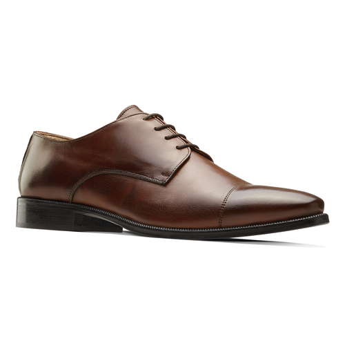 Derby da uomo in pelle bata-the-shoemaker, marrone, 824-4184 - 13