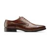 Derby da uomo in pelle bata-the-shoemaker, marrone, 824-4184 - 26