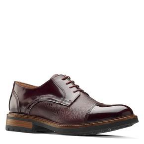 Scarpe stringate bordeaux bata-the-shoemaker, rosso, 824-5187 - 13