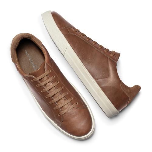 Sneakers uomo north-star, marrone, 841-4730 - 19