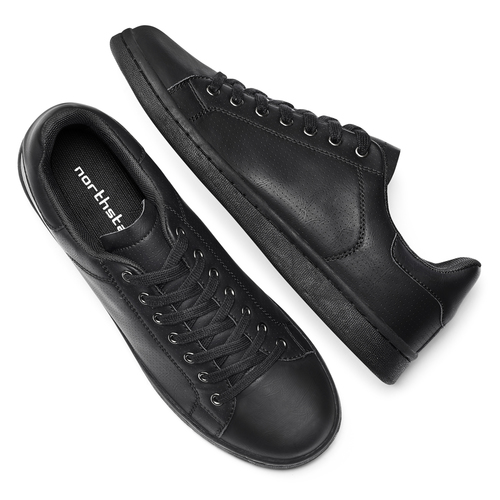 Sneakers da uomo North Star  north-star, nero, 841-6731 - 19