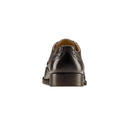Stringate The Shoemaker uomo bata-the-shoemaker, marrone, 824-4185 - 16