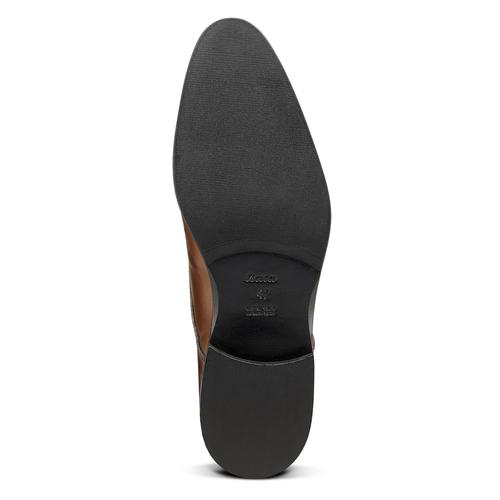 Derby da uomo in pelle bata-the-shoemaker, marrone, 824-4184 - 17
