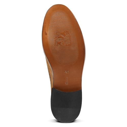 Scarpe basse da uomo bata-the-shoemaker, marrone, 824-3192 - 17