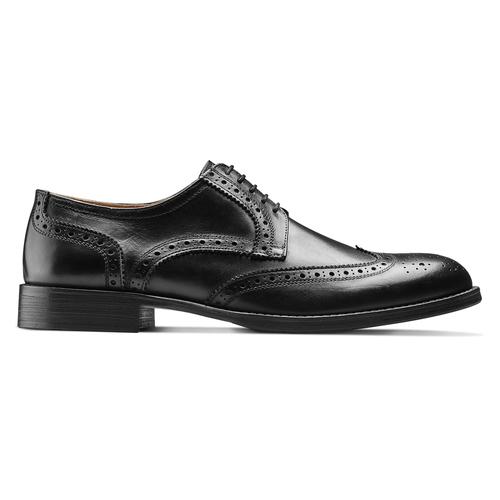Scarpe stringate da uomo bata-the-shoemaker, nero, 824-6185 - 26