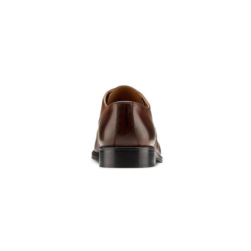 Derby da uomo in pelle bata-the-shoemaker, marrone, 824-4184 - 16