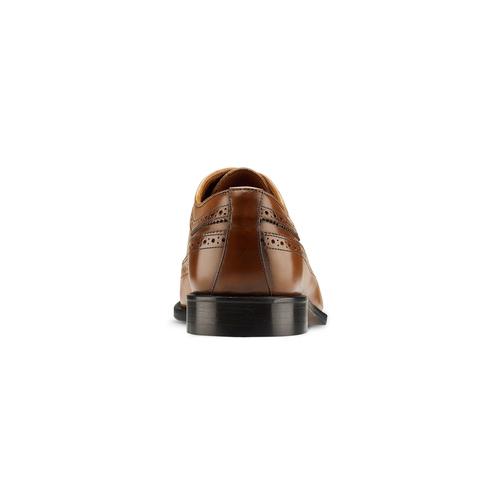 Scarpe basse da uomo bata-the-shoemaker, marrone, 824-3192 - 16