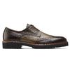 Stringate Derby in pelle bata-the-shoemaker, marrone, 824-4186 - 26