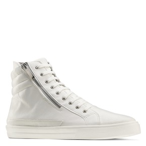 Sneakers alte bianche north-star, bianco, 841-1503 - 13