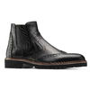 Chelsea boots in pelle bata-the-shoemaker, nero, 894-6735 - 13