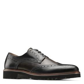 Scarpe stringate bicolore bata-the-shoemaker, nero, 824-6186 - 13