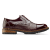 Scarpe stringate bordeaux bata-the-shoemaker, rosso, 824-5187 - 26