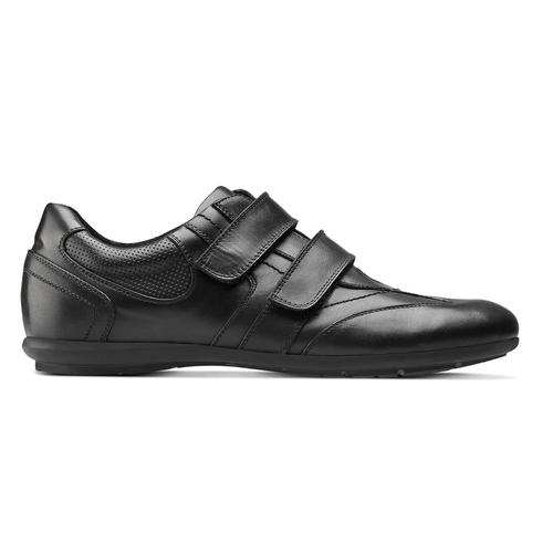 Scarpe con strappi da uomo bata, nero, 844-6729 - 26