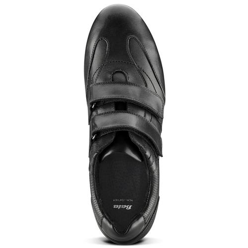 Scarpe con strappi da uomo bata, nero, 844-6729 - 15