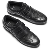 Scarpe con strappi da uomo bata, nero, 844-6729 - 19