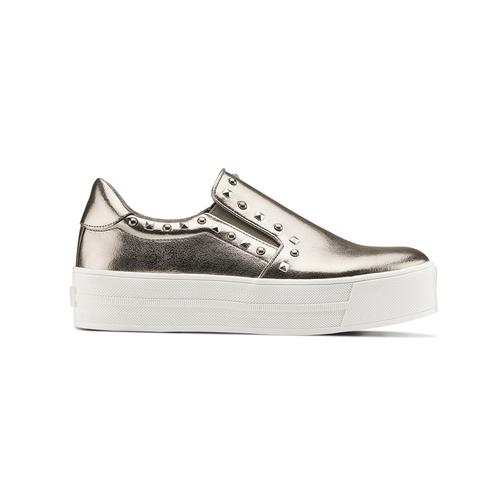 Sneakers metallizzate con borchie north-star, 511-2385 - 26