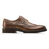 Derby in pelle marrone da uomo bata-light, marrone, 824-4399 - 26