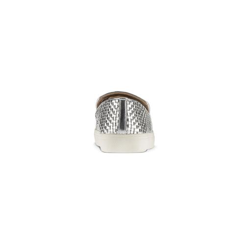 Slip-on intrecciate argento north-star, argento, 541-1324 - 16