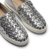 Slip-on intrecciate argento north-star, argento, 541-1324 - 19