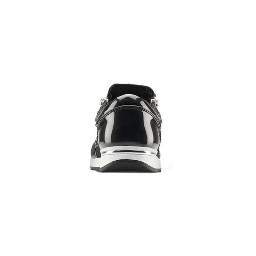 Slip-on con strass mini-b, nero, 329-6289 - 16