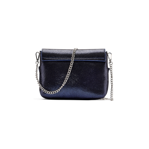 Mini bag a tracolla bata, blu, 969-9176 - 26