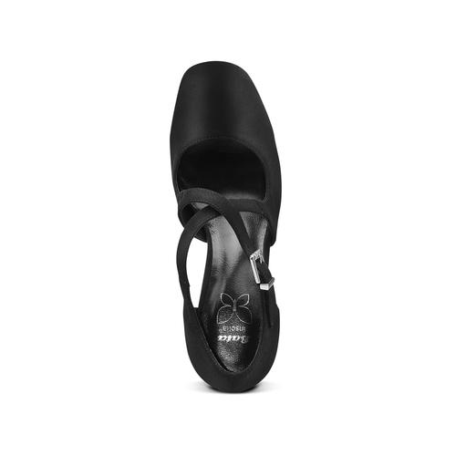 Decolletè Insolia con tacco largo insolia, nero, 729-6975 - 17
