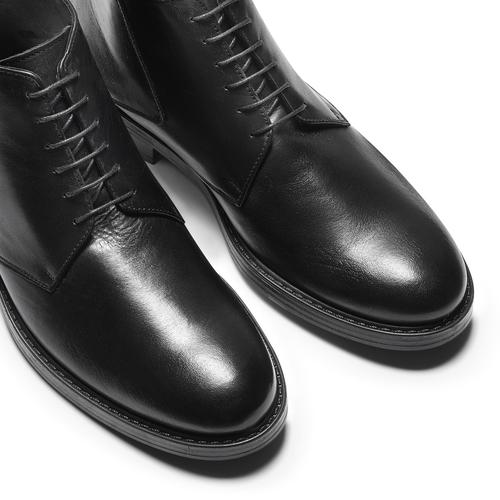 Boots da uomo in pelle nera bata, nero, 824-6115 - 15