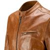 Giacca in pelle da uomo bata, marrone, 974-3142 - 15
