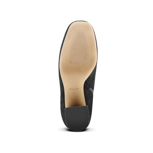 Stivali Bata con tacco largo bata, nero, 799-6661 - 17