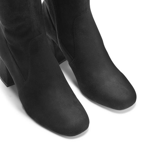 Stivali Bata con tacco largo bata, nero, 799-6661 - 15