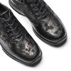 Scarpe con intarsi laminati bata, nero, 524-6663 - 19