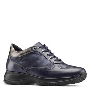 Scarpe comfort viola bata, blu, 524-9663 - 13