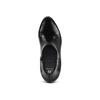 Stivaletti con tacco in pelle bata, nero, 794-6671 - 17