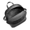 Zaino Unisex in Vera Pelle con zip bata, nero, 964-6240 - 16