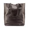 Shopper in Vera Pelle bata, marrone, 964-4122 - 26