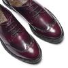Stringate Bordeaux bata, rosso, 521-5666 - 19