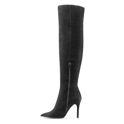 Stivali cuissardes Melissa Satta Capsule Collection bata, nero, 793-6207 - 16