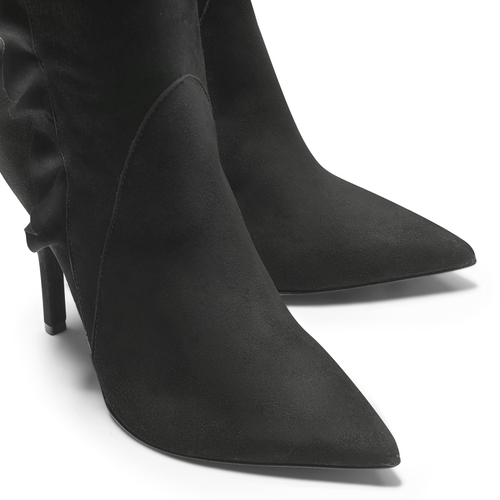Stivali cuissardes Melissa Satta Capsule Collection bata, nero, 793-6207 - 15