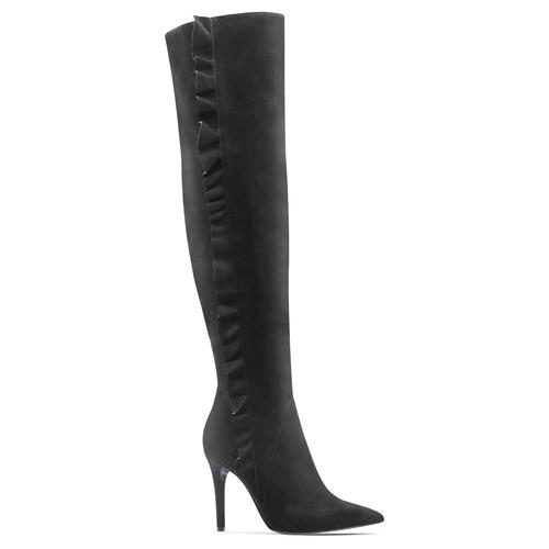 Stivali cuissardes Melissa Satta Capsule Collection bata, nero, 793-6207 - 13