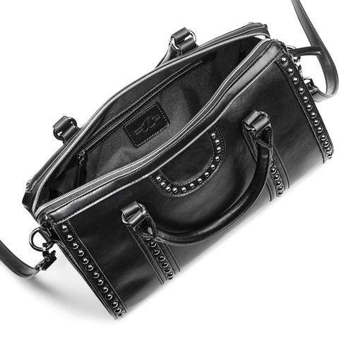 Bauletto nero da donna bata, nero, 961-6106 - 16