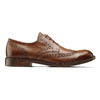 Derby in pelle da uomo bata, marrone, 824-3429 - 26