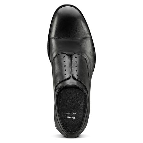 Scarpe da uomo senza lacci in pelle bata, nero, 824-6270 - 15