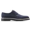 Scarpe stringate in camoscio bata-light, blu, 823-9986 - 26