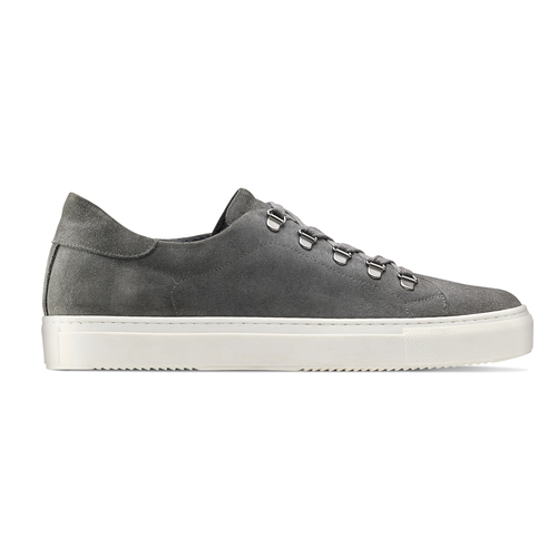 Sneakers in suede da uomo north-star, grigio, 843-2736 - 26