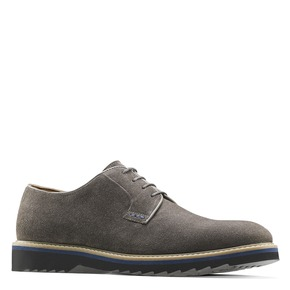 Scarpe Derby da uomo bata-light, grigio, 823-2986 - 13