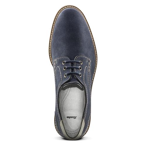 Scarpe blu da uomo bata, blu, 823-9708 - 15
