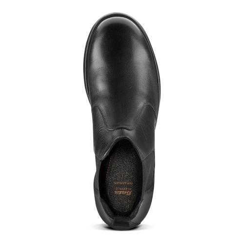 Chelsea Boots in pelle flexible, nero, 844-6117 - 15