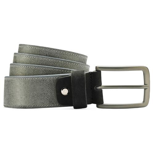 Cintura uomo bata, grigio, 954-2109 - 13