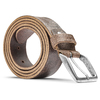 Cintura in pelle marrone bata, marrone, 954-4108 - 26