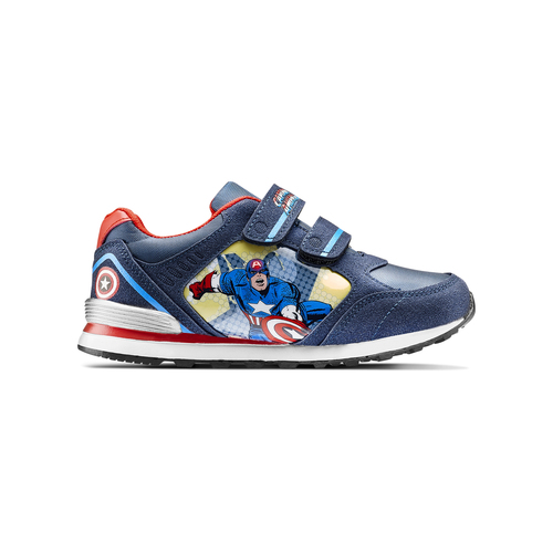 Sneakers Capitan America da bambino, blu, 311-9283 - 26